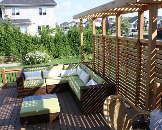 D coration maison terrasse exemples d 39 am nagements - Deco terrasse maison ...
