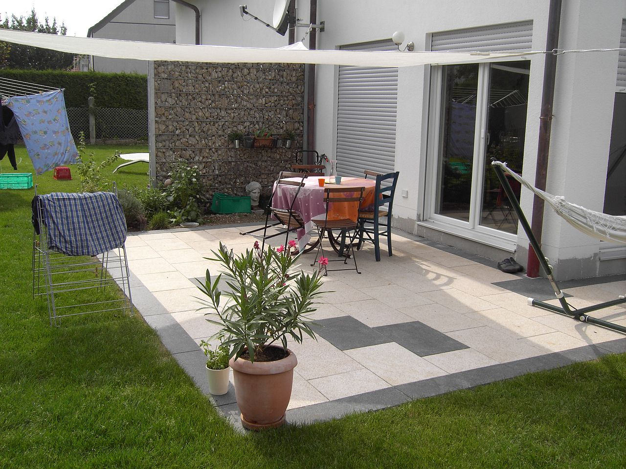 D coration mur de terrasse exemples d 39 am nagements for Decoration de terrasse