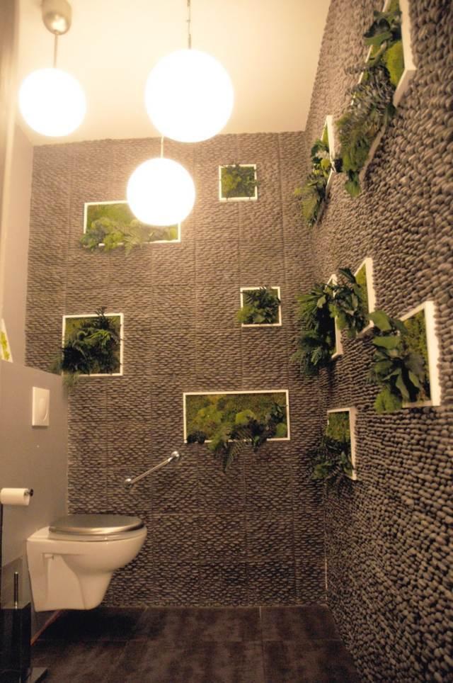 Décoration Murale Toilettes Exemples Daménagements