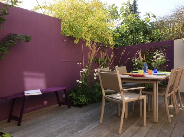 D coration patio terrasse exemples d 39 am nagements - Deco terrasse maison ...
