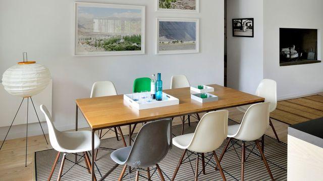 d coration salle a manger exemples d 39 am nagements. Black Bedroom Furniture Sets. Home Design Ideas