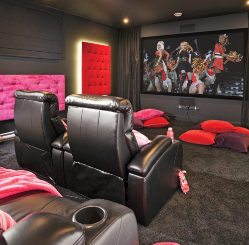 d co salle cinema maison. Black Bedroom Furniture Sets. Home Design Ideas