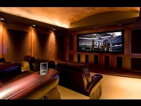 D coration salle cinema maison exemples d 39 am nagements - Salle cinema maison ...