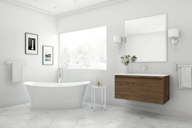 D coration salle de bain 2016 exemples d 39 am nagements for Decoration de salle de bain 2016