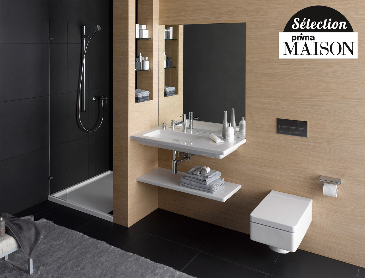 D coration salle de bain 2016 exemples d 39 am nagements - Photo salle de bain design ...