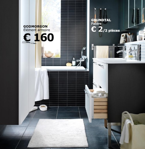 d coration salle de bain ikea exemples d 39 am nagements. Black Bedroom Furniture Sets. Home Design Ideas