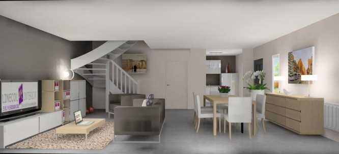 Amenagement salon sejour cuisine 40m2 id e inspirante pour la conception de la maison - Amenagement salon sejour 30m2 ...