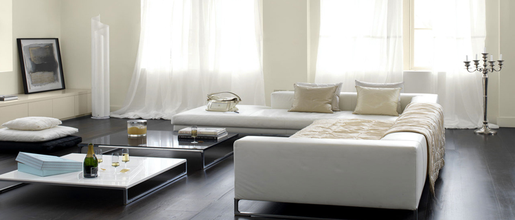 deco pour salon gris et blanc. Black Bedroom Furniture Sets. Home Design Ideas