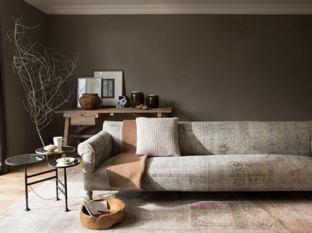 d coration salon couleur taupe exemples d 39 am nagements. Black Bedroom Furniture Sets. Home Design Ideas