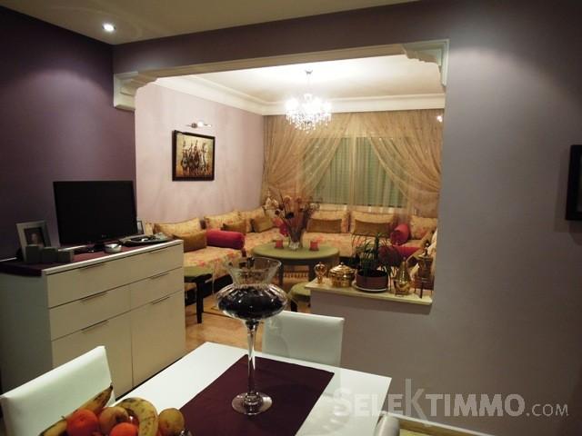décoration salon double