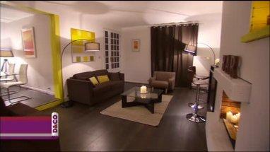 Décoration salon meuble wenge - Exemples d\'aménagements