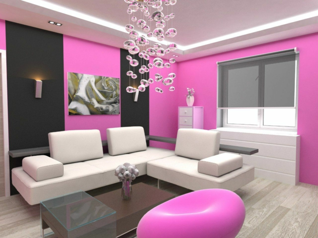 Stunning salon noir gris rose contemporary amazing house design