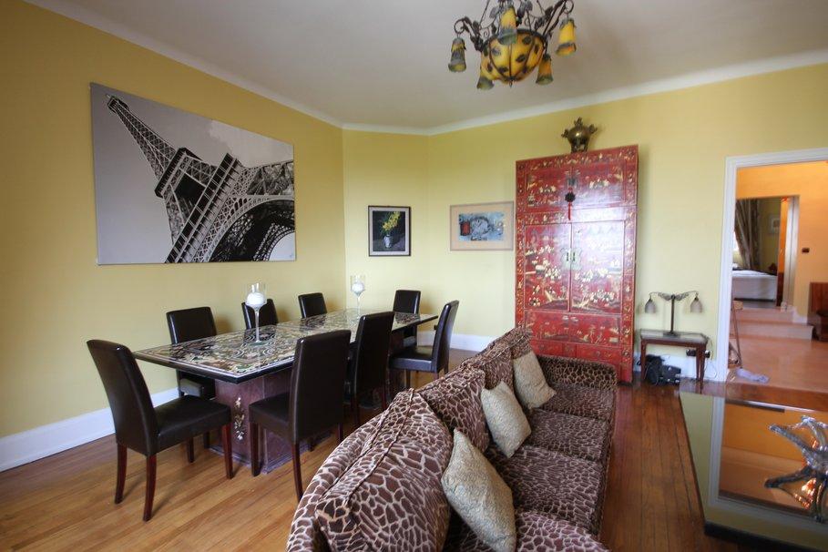 dcoration salon salle a manger appartement ides damnagements - Exemple De Salon Salle A Manger