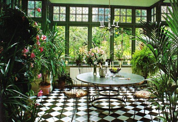 Décoration style jardin d\'hiver - Exemples d\'aménagements