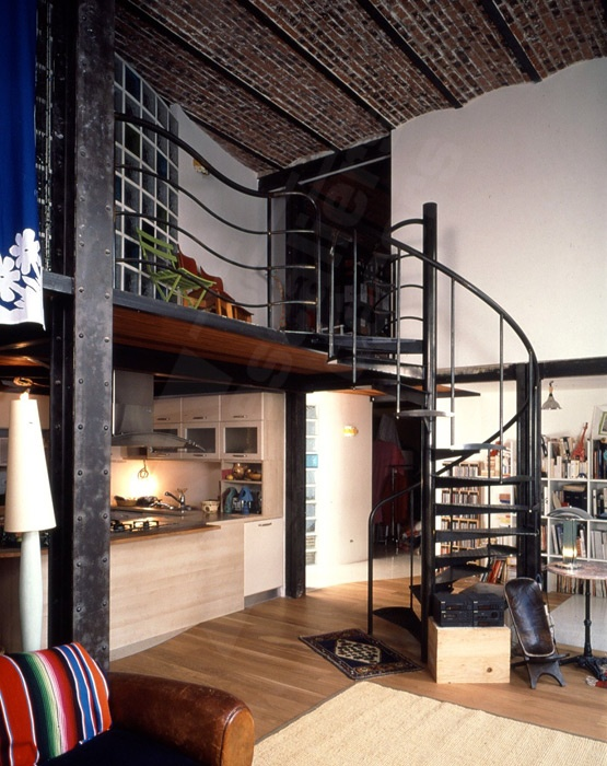 D coration loft industriel - Decoration interieur style atelier ...