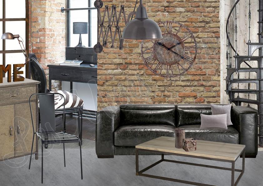 D coration style loft industriel exemples d 39 am nagements - Decoration interieur style anglais ...