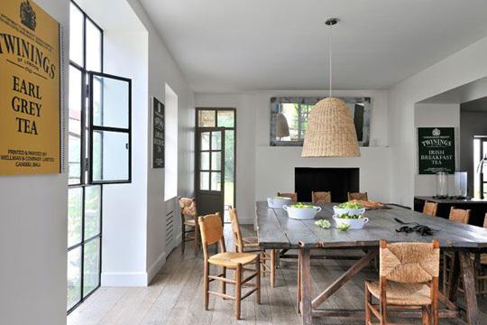 D coration style maison de vacances exemples d 39 am nagements - Decoration maison en bois ...