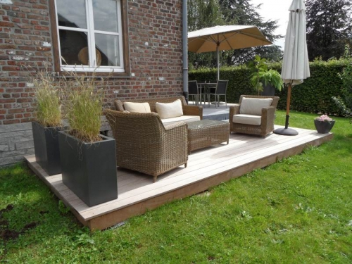 D coration terrasse belgique exemples d 39 am nagements for Idees terrasses exterieures