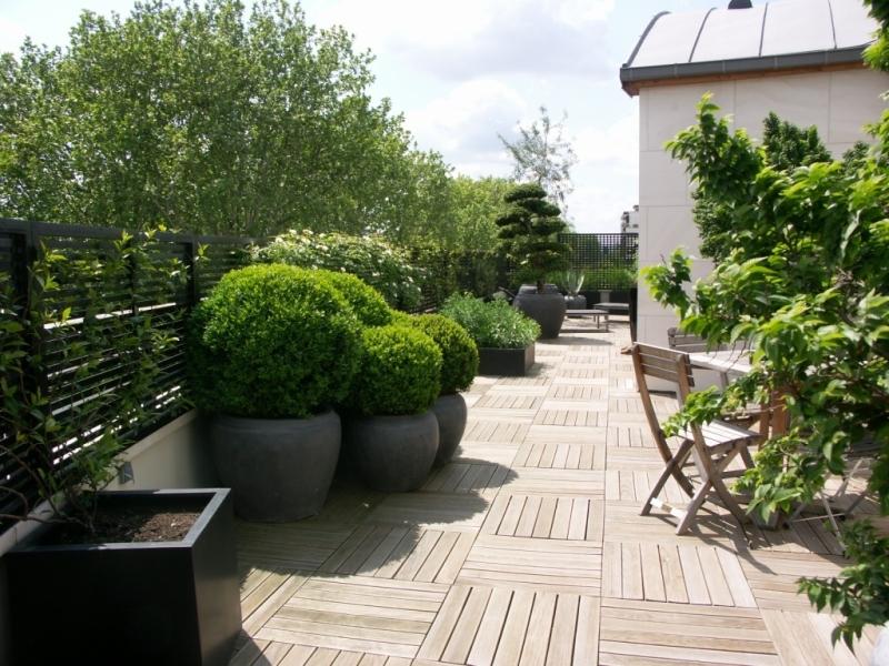 D Coration Terrasse Design Exemples D 39 Am Nagements
