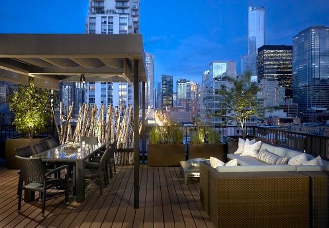 D coration terrasse ete exemples d 39 am nagements for Decoration de terrasse