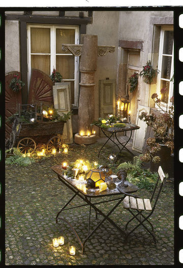 D coration terrasse noel exemples d 39 am nagements for Decoration noel exterieur