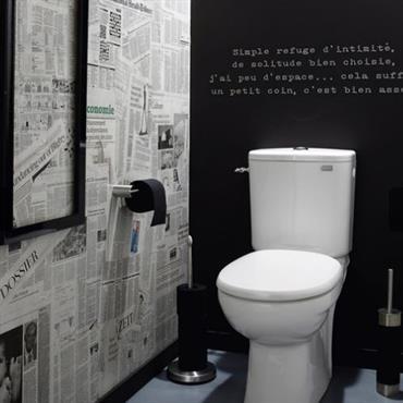 D coration toilettes moderne exemples d 39 am nagements for Decoration wc moderne