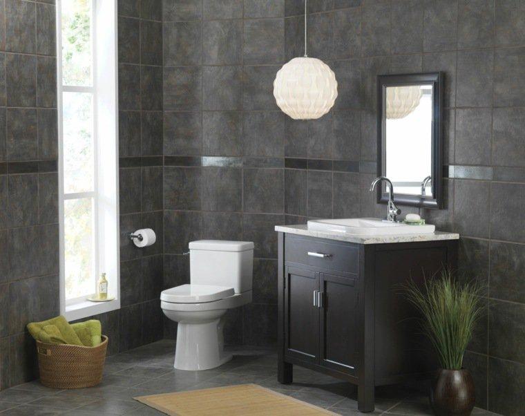 D coration toilettes moderne exemples d 39 am nagements for Idees deco toilettes photos