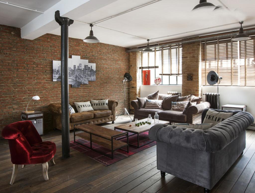 Décoration type loft   exemples d'aménagements