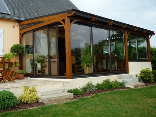 D coration veranda exterieure exemples d 39 am nagements for Decoration interieur et exterieur maison