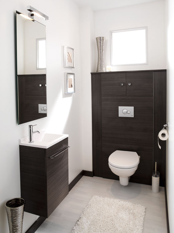 Idee deco wc suspendu for Idee decoration toilettes