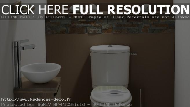 exemple décoration zen pour wc