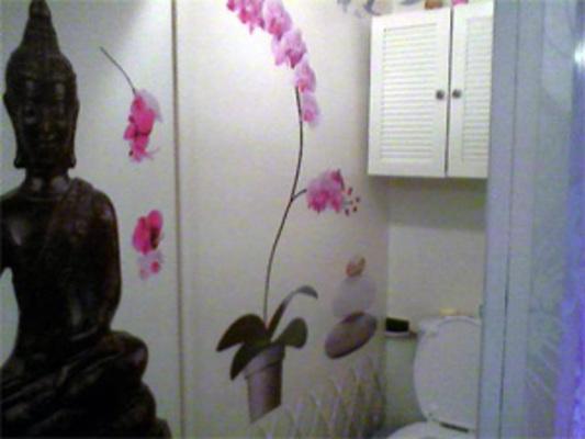 Idee deco toilette zen stunning stunning on soigne sa dco wc pour